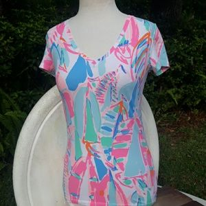 Lilly Pulitzer new playful top xsmall